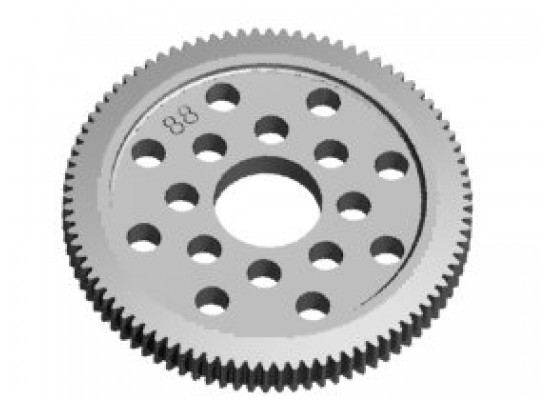 3Racing Spur Gear 64P 90T
