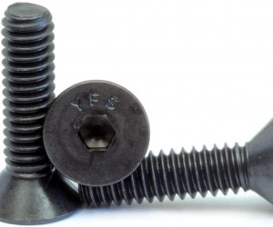 BMI 4/40 x 1/2 Flat Head Steel Screws